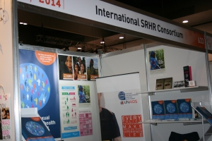 Booth signage